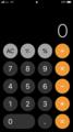 iOSデフォルト電卓