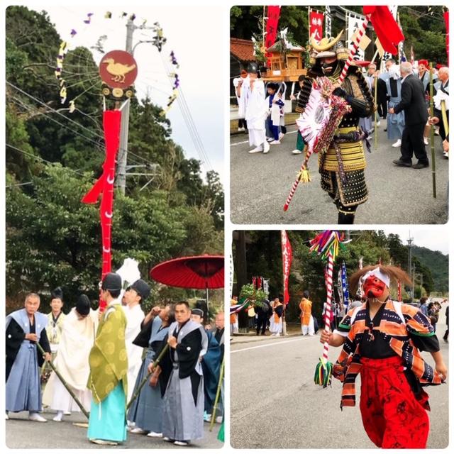 2019年10月19日 武良祭風流