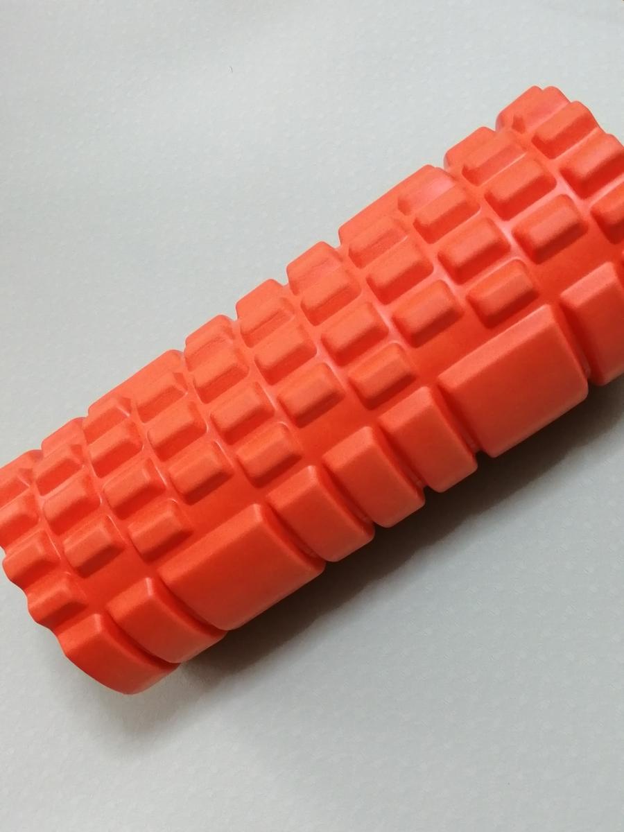 筋膜リリースにはフォームローラーを使います