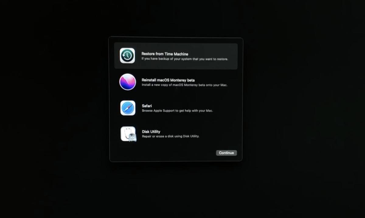 macOS復旧