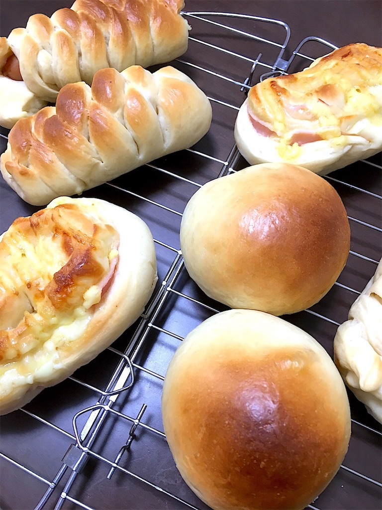 ウインナーパン パン作り レシピ