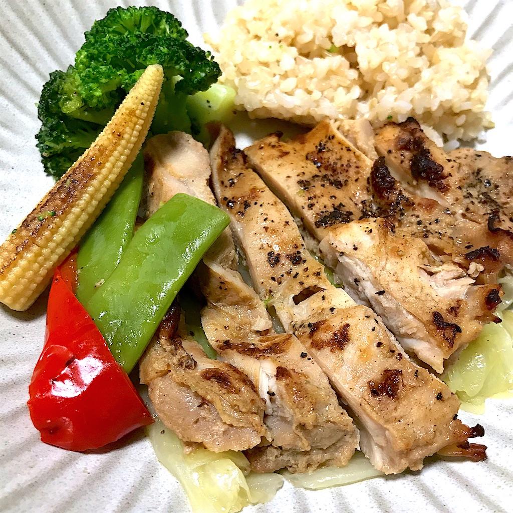 筋肉食堂DELI 鶏モモ肉ピリ辛チキン