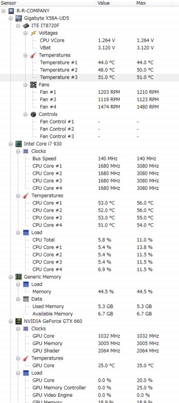 Open Hardware Monitor 1