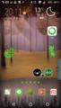 XperiaZ5 ホーム画面