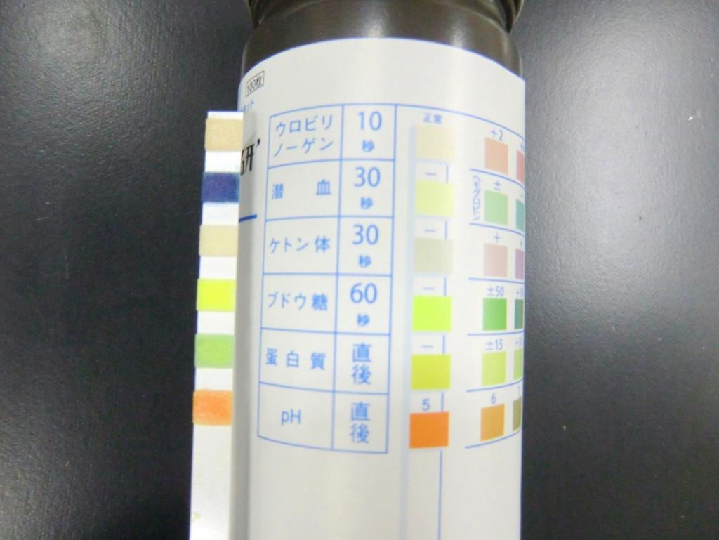 尿定性の試験紙