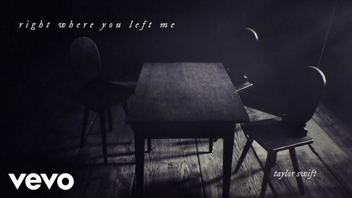 【歌詞和訳】right where you left me - Taylor Swift:テイラー・スウィフト