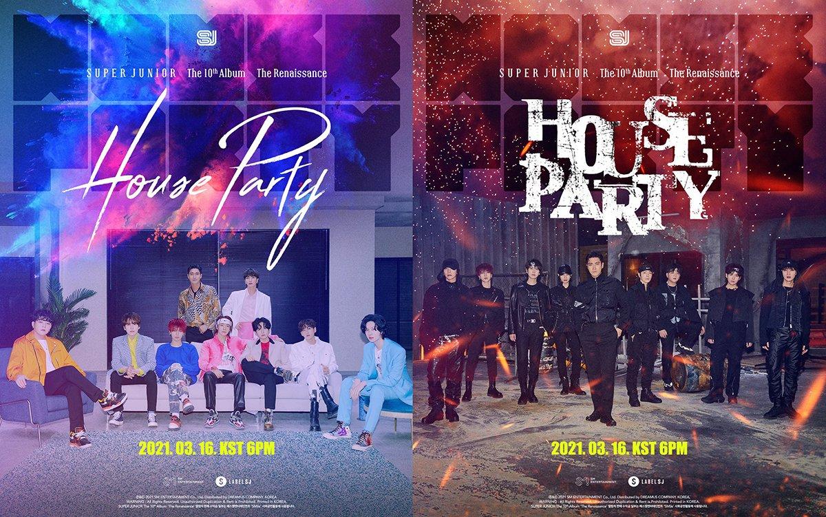【歌詞和訳】House Party:ハウス・パーティー - SUPER JUNIOR:スーパ・ージュニア