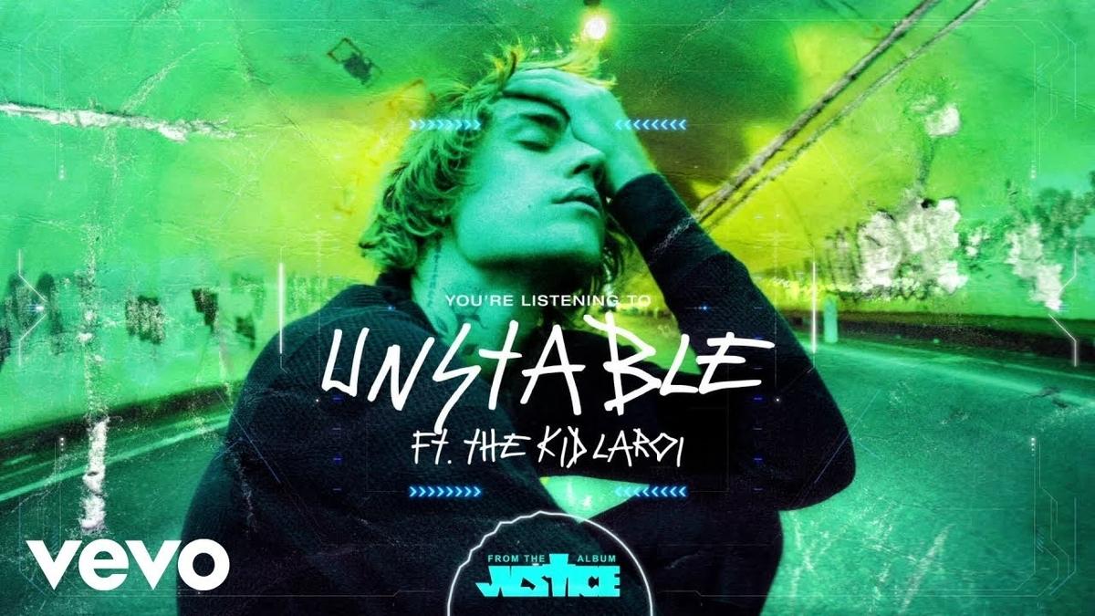 【歌詞和訳】Unstable:アンステイブル - Justin Bieber:ジャスティン・ビーバー ft. The Kid LAROI:ザ・キッド・ラロイ
