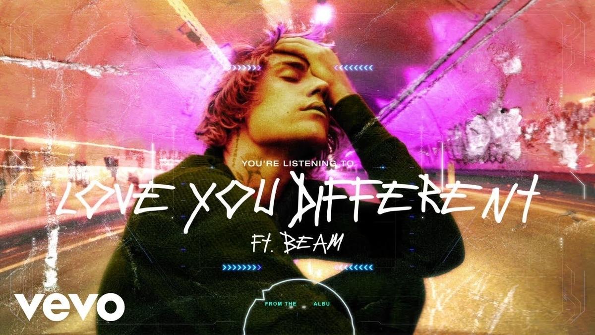 【歌詞和訳】Love You Different:ラブ・ユー・ディファレント - Justin Bieber:ジャスティン・ビーバー ft.BEAM
