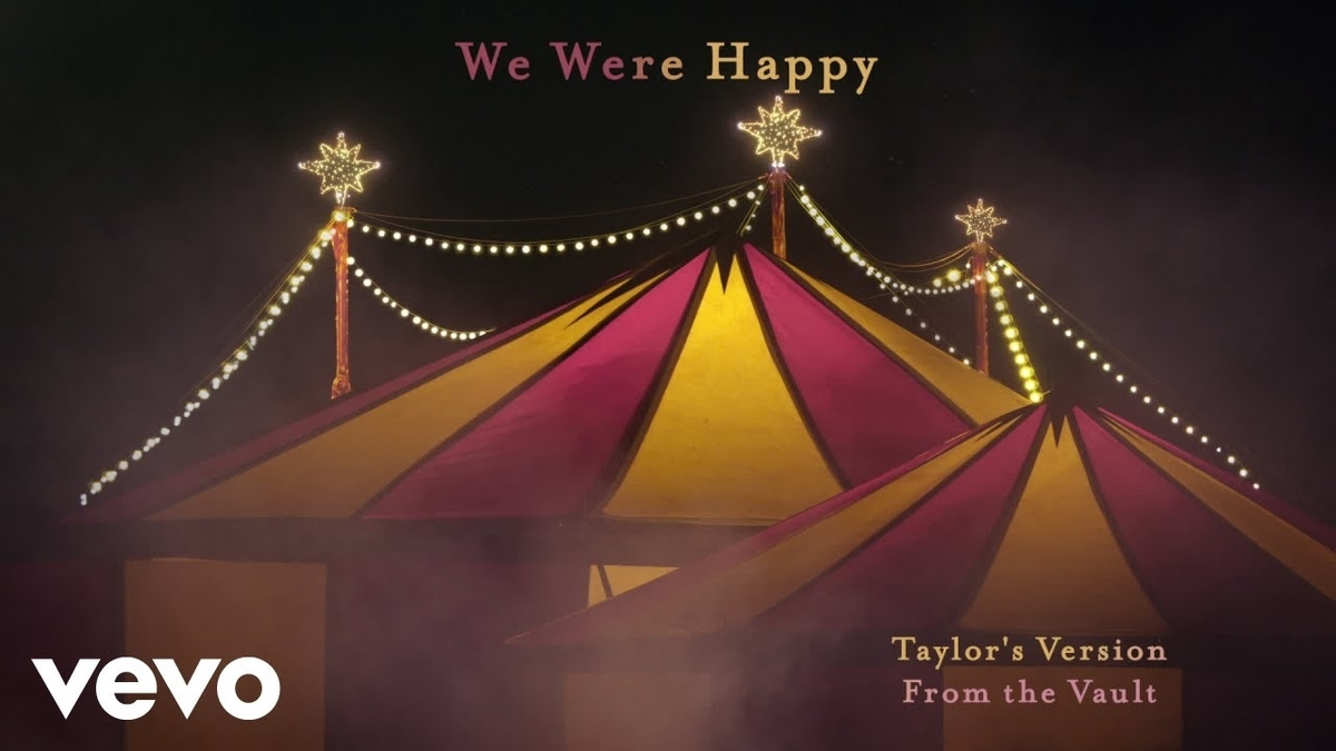 【歌詞和訳】Taylor Swift:テイラー・スウィフト - We Were Happy (Taylor's Version) [From the Vault]