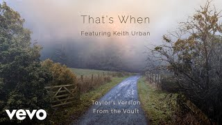 【歌詞和訳】Taylor Swift:テイラー・スウィフト - That's When (Taylor's Version) [From the Vault]
