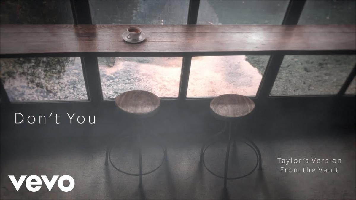 【歌詞和訳】Taylor Swift:テイラー・スウィフト - Don't You (Taylor's Version) [From the Vault]