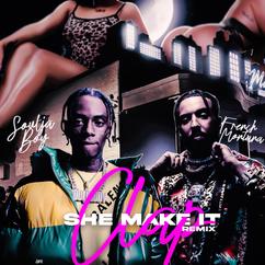 【歌詞和訳】She Make It Clap (Remix):シー・メイク・イット・クラップ - Soulja Boy ft.French Montana:ソウルジャ・ボーイ ft. フレンチ・モンタナ