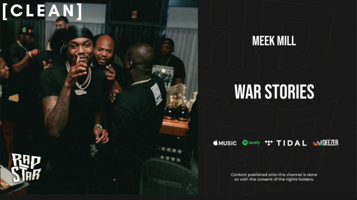 【歌詞和訳】War Stories:ウォー・ストーリーズ - Meek Mill:ミーク・ミル