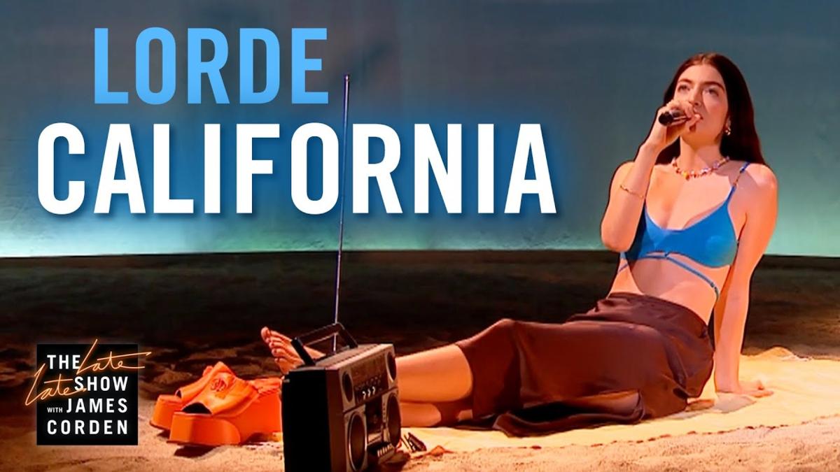【歌詞和訳】California:カリフォルニア - Lorde:ロード