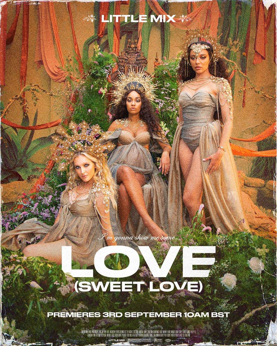 【歌詞和訳】Love (Sweet Love):ラブ(スイート・ラブ) - Little Mix:リトル・ミックス