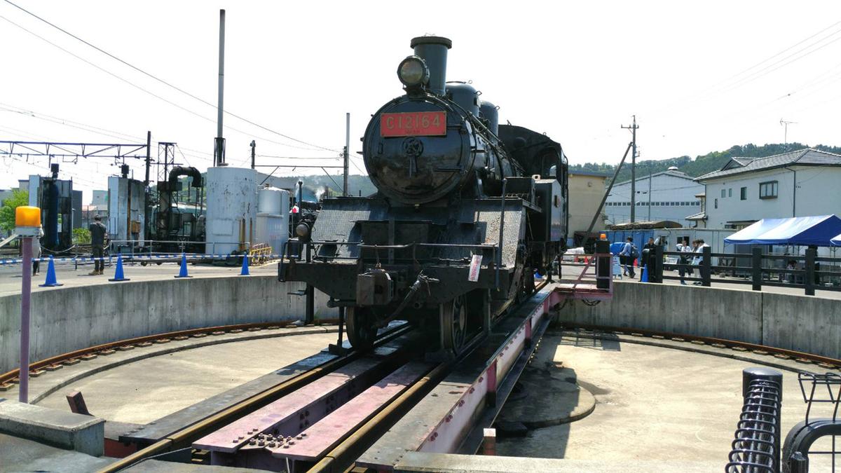 機関車 展示