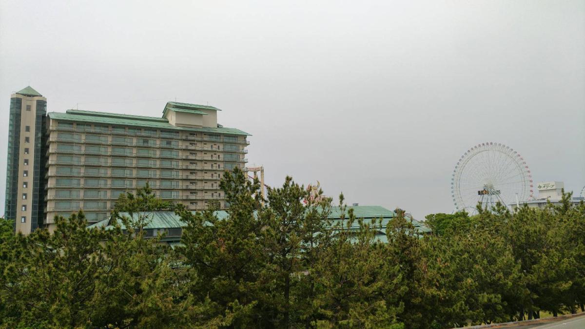 ホテル周辺の景色