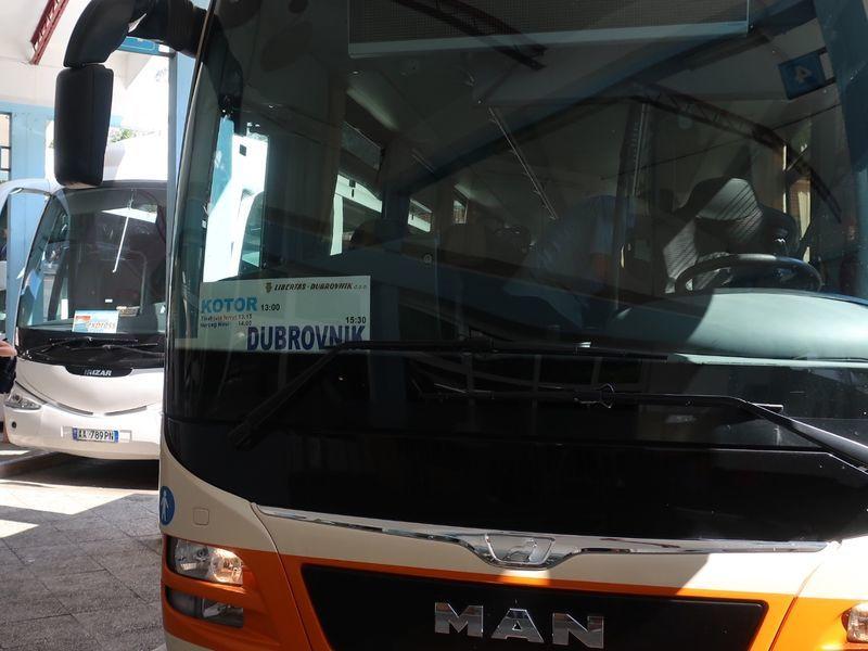 ドゥブロヴニクのバス