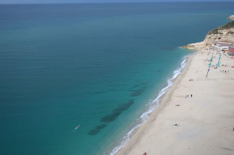 トロペアのビーチ