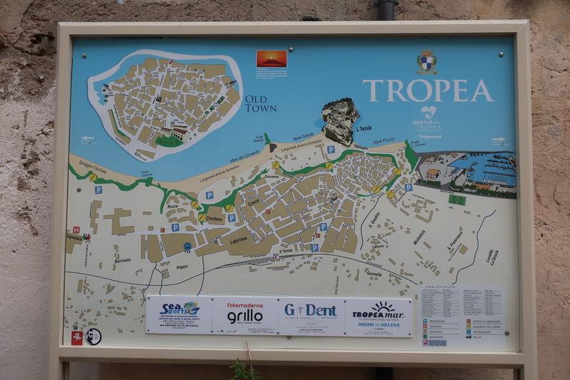 トロペアの地図