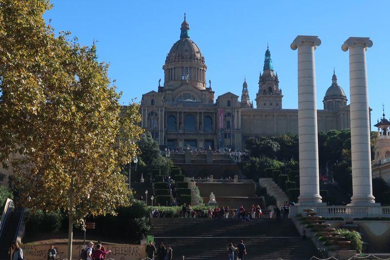 カタルーニャ美術館入口