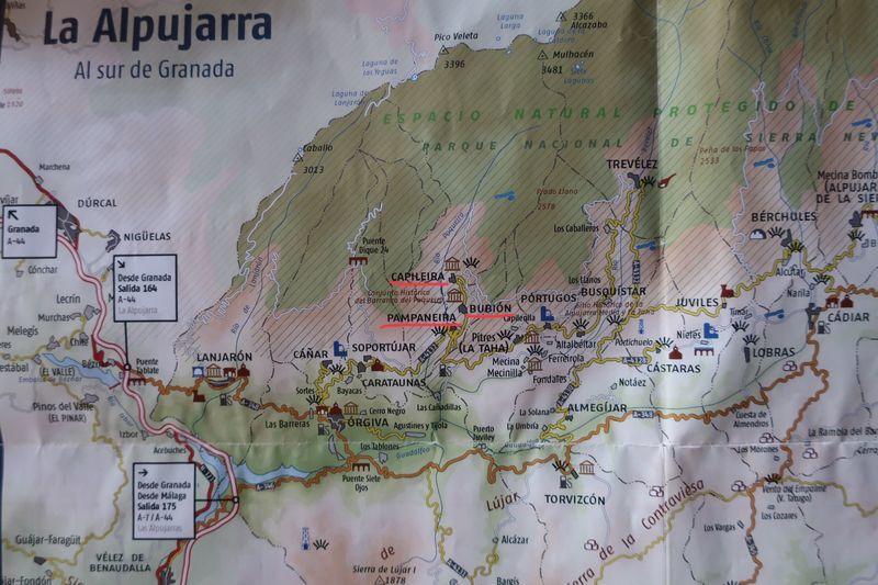 アルプハラ地図