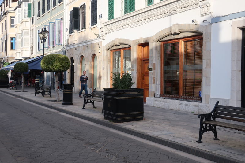 ジブラルタルメインストリート