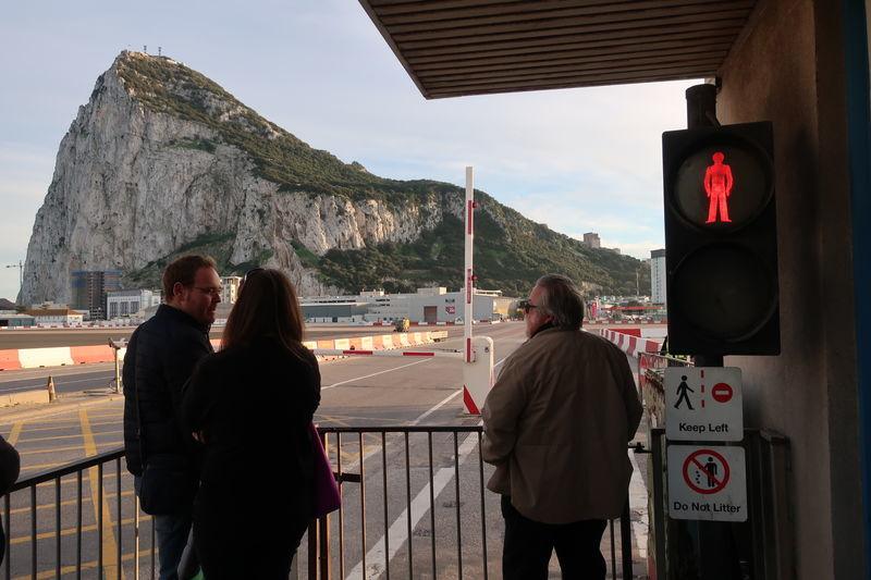 ジブラルタルの滑走路