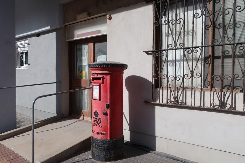 ジブラルタルのポスト