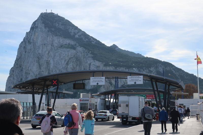 ジブラルタル入国ゲート