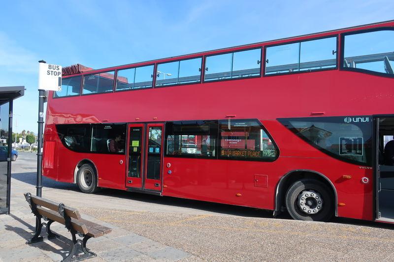 ジブラルタルのバス