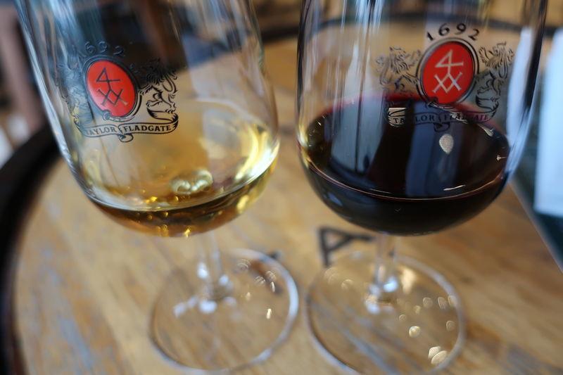 ポートワインの試飲