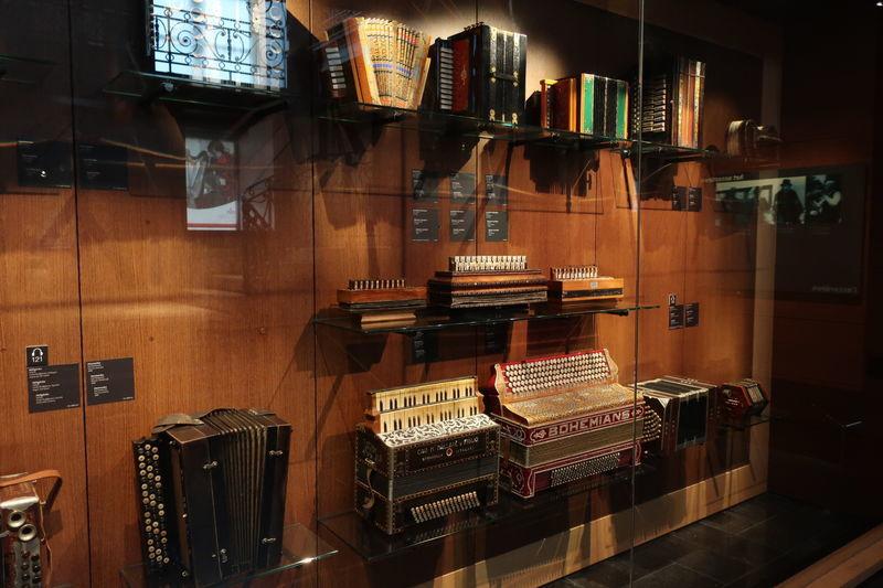 楽器博物館展示