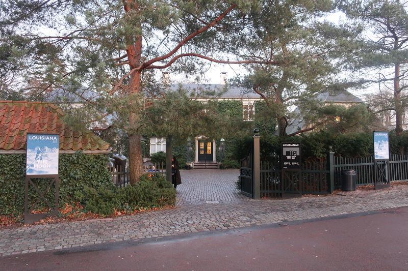 ルイジアナ美術館入口