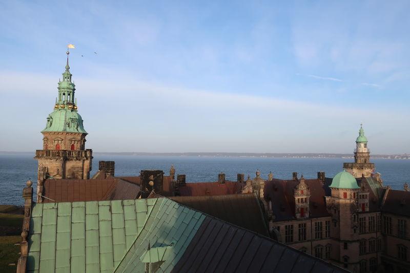 クロンボー城からの眺め
