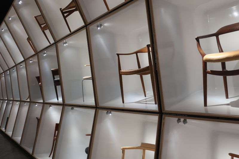 デザインミュージアムのイス