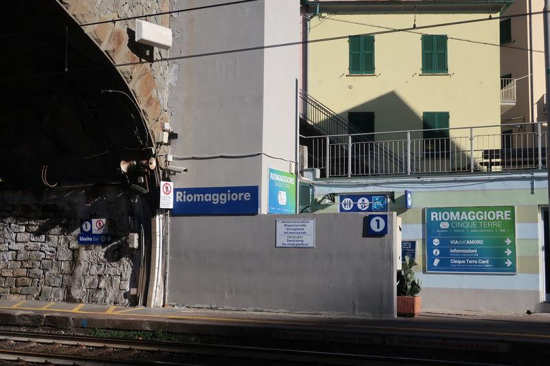 リオマッジョーレ駅