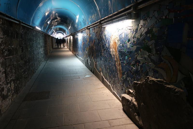 リオマッジョーレのトンネル