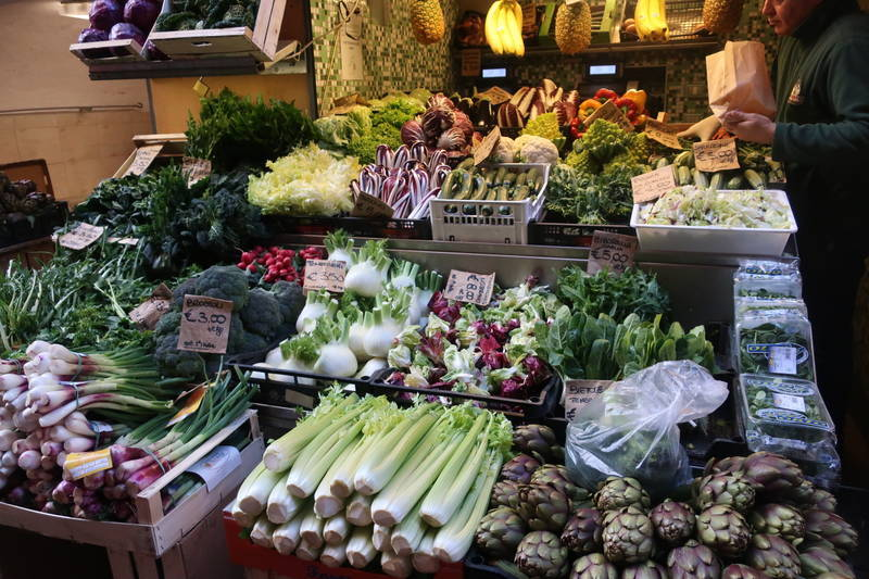 ボローニャのマーケット