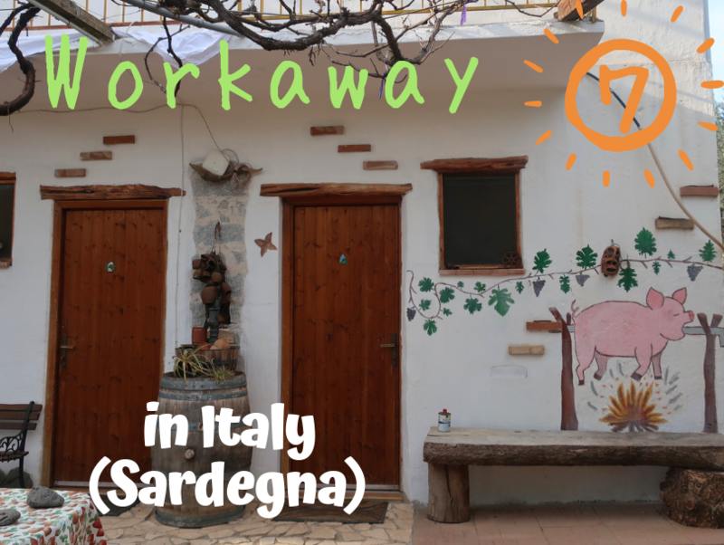 Workaway⑦ in Italy(Sardegna)