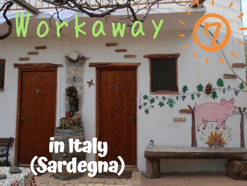 Workaway⑦ in Italy(Sardegna)