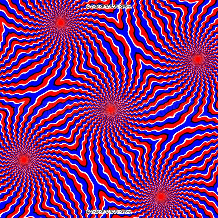 動いて見える錯覚