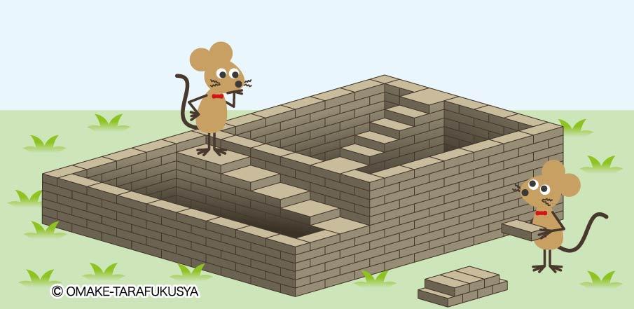 ネズミの家