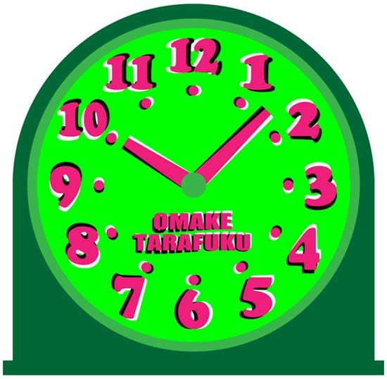動いている時計