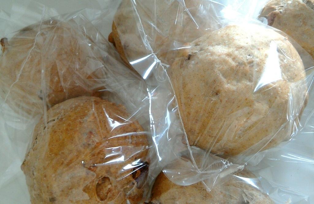 包装した胡桃パン