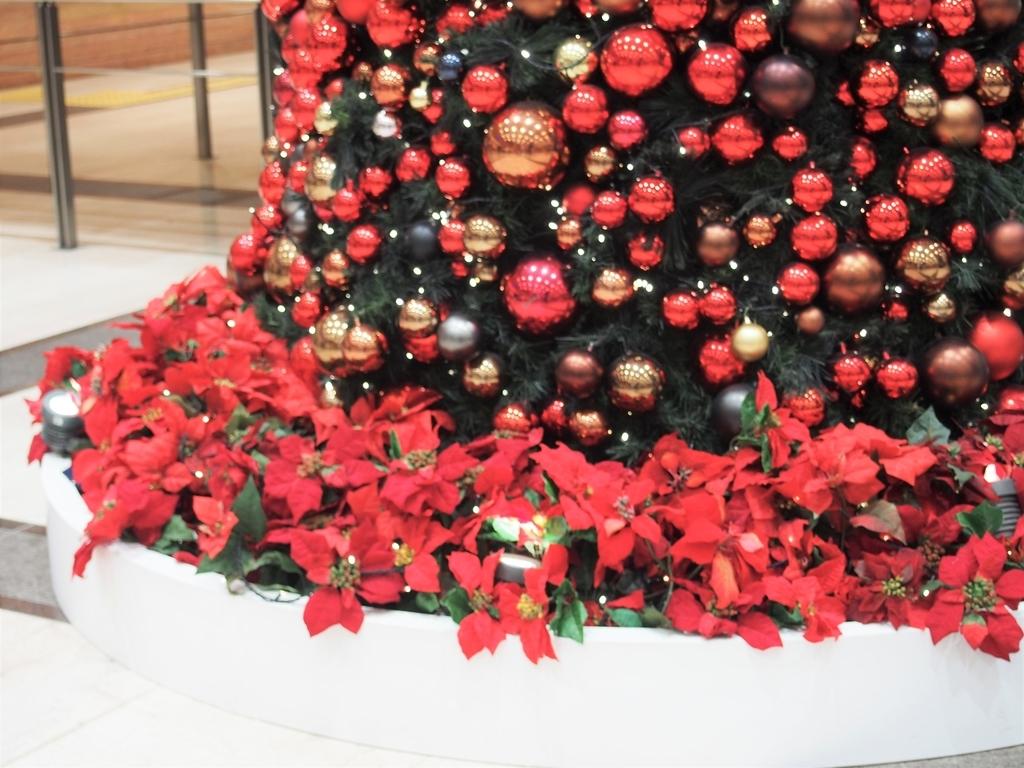 そごう横浜のクリスマスの飾り