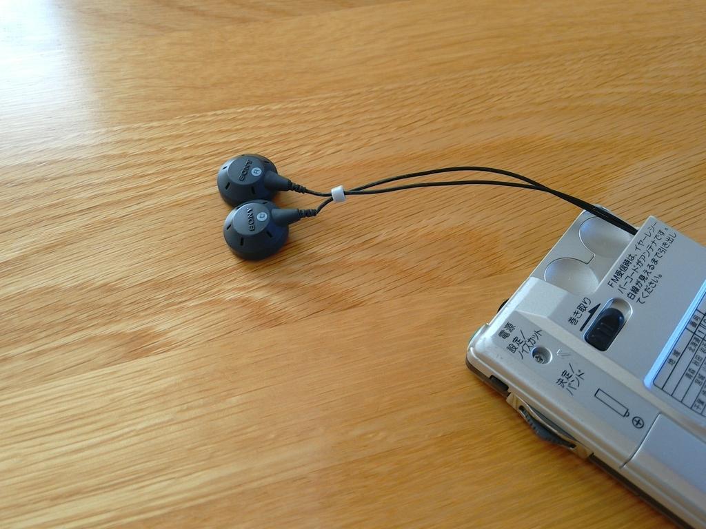 ソニーポケットラジオ