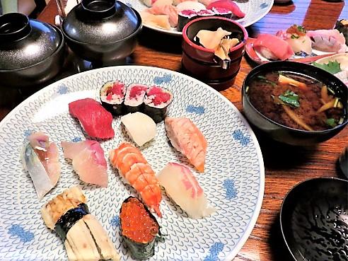 ランチのにぎり寿司