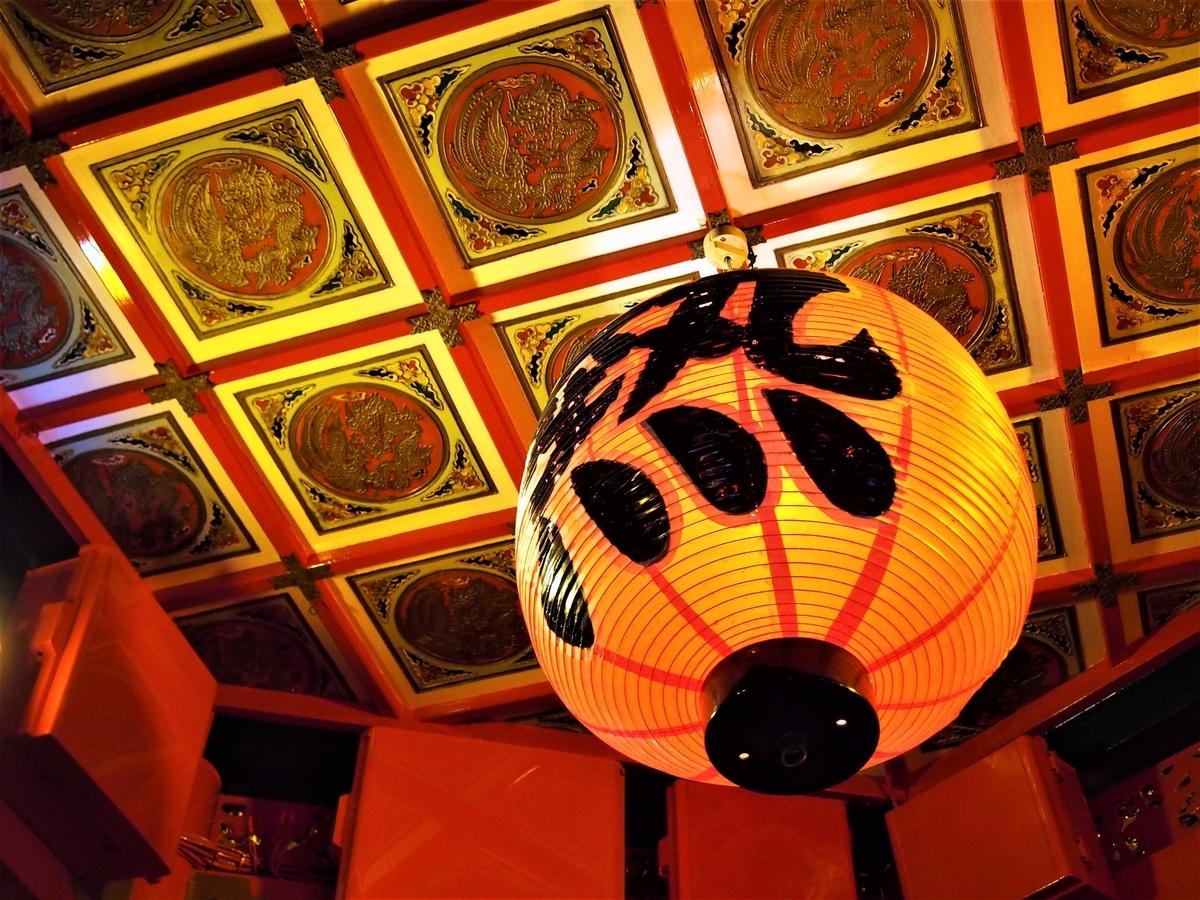 神戸のチャイナタウンの提灯